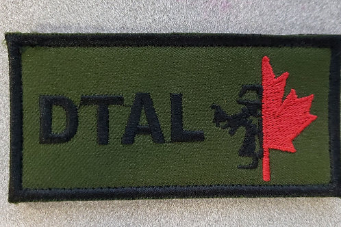 DTAL VELCRO PATCH 2 X 4