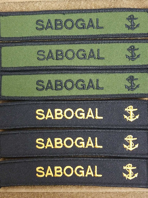 Navy name tags