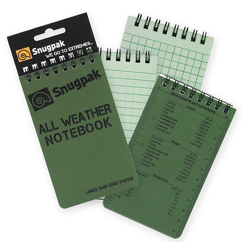 Snugpak - All Weather Notebook - Small