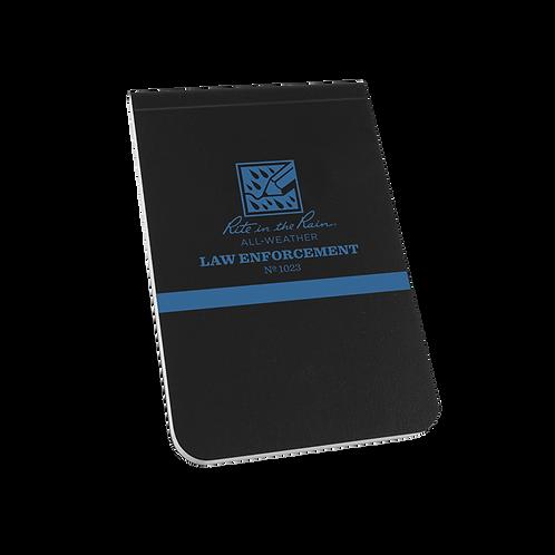 """LAW ENFORCEMENT  3 1/4"""" x 5"""" """"Thin Blue Line"""""""