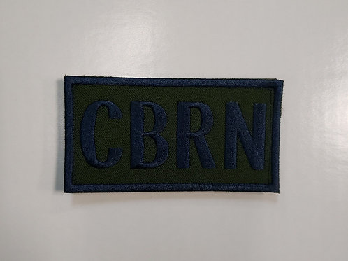CBRN AIRFORCE PATCH WITH VELCRO
