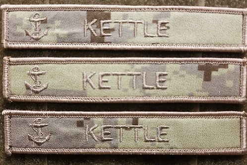 Canadian Military Navy name tags