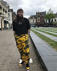 Trendy camo pants Post Malone