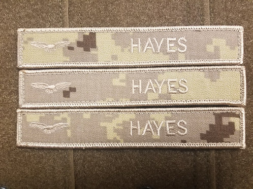 Canadian Military deployment airforce name tags