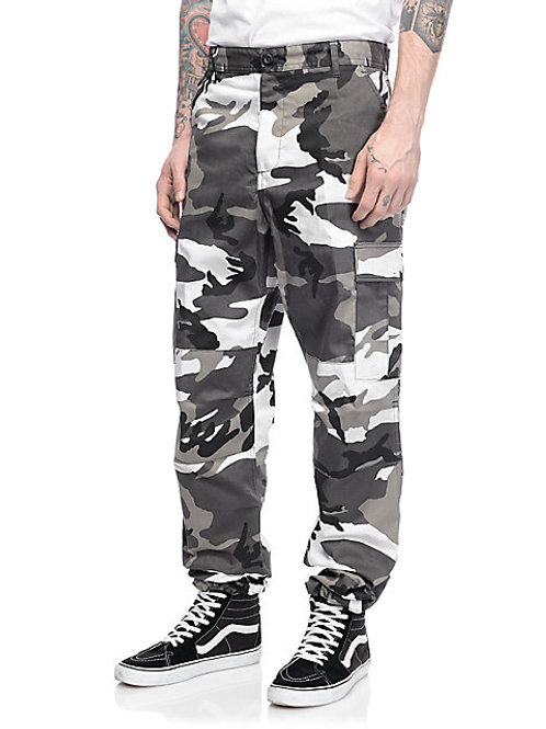BDU Tactical City Camo Cargo Pants