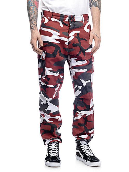 BDU Tactical Red Camo Cargo Pants