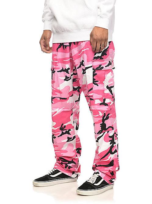 BDU Pink Camo Cargo Pants