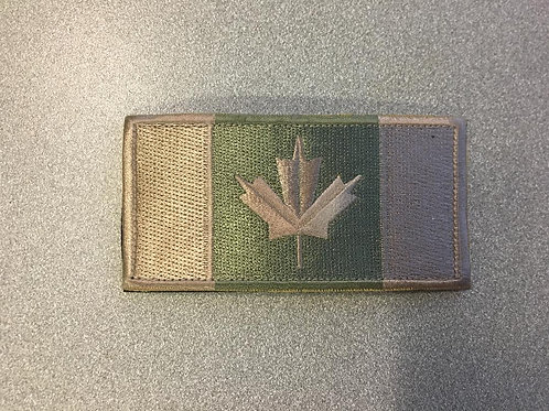 """Green and tan canadian flag 2x4"""""""