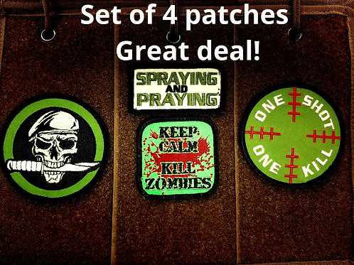Patches pack of 4