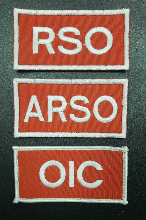 RSO,ARSO,OIC,RSM,C TRG O,CO