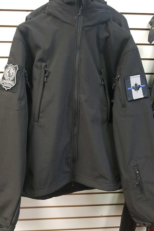 International Police association  Soft Shell Jacket with 2 badges