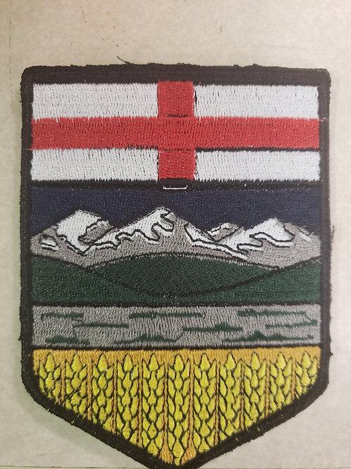 Alberta velcro patch