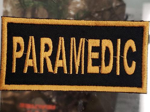Paramedic 2x4 velcro patch