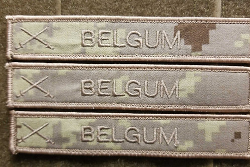 Canadian Military Army Deployment name tags