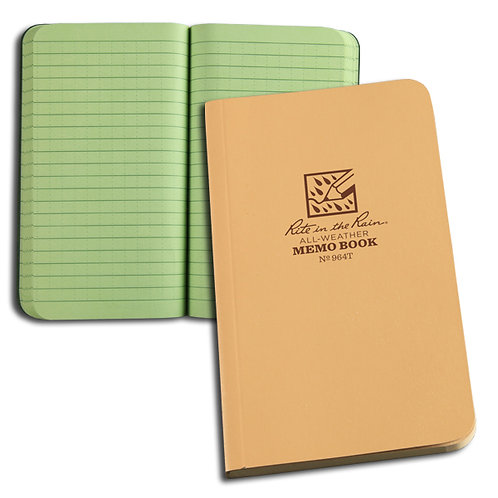 """All Weather 3.5""""x6"""" Notebook"""