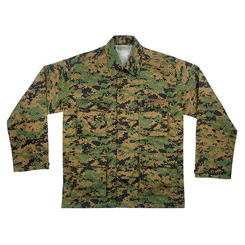 Woodland digital Combat (tunic) Shirt