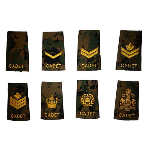 Cadet Epaulets