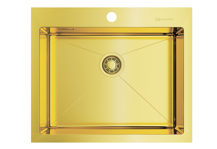 Мойка Omoikiri Akisame 59-светлое золото