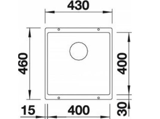 Технические характеристики мойки Blanco