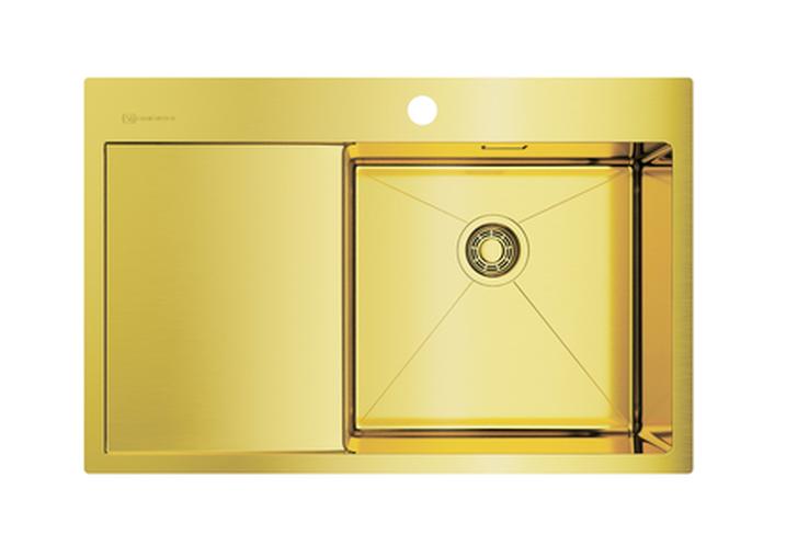 Мойка Omoikiri Akisame 78-светлое золото