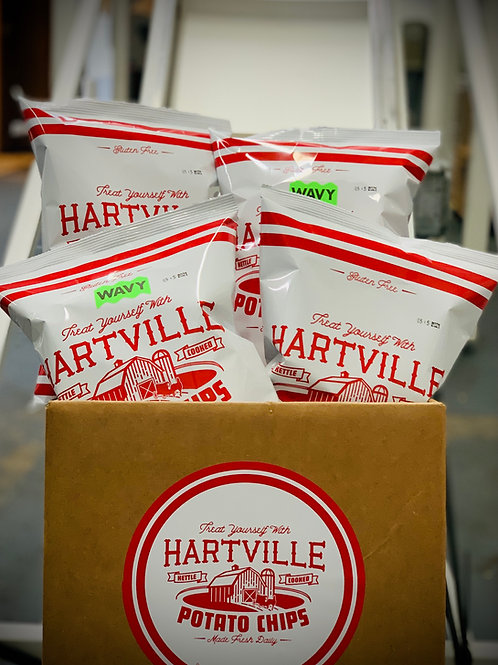 Small Case - (4) 8oz Bags of Kettle Cooked Potato Chips