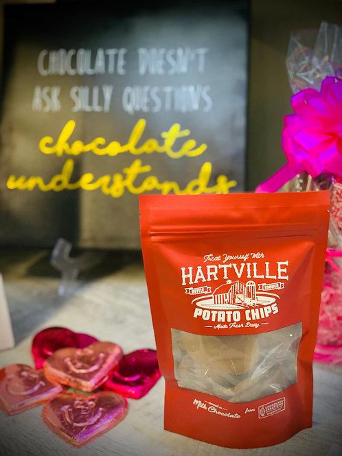 4oz Bag of Milk Chocolate Covered Potato Chips