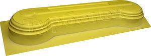Форма пластик ПВХ АБС Тумба 4