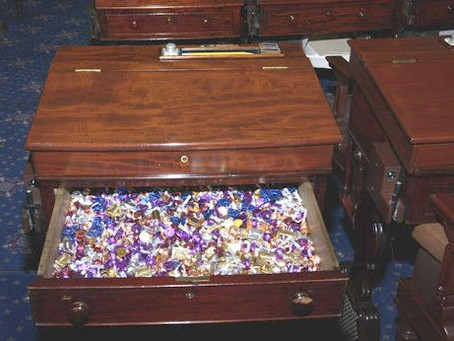 Where is the Senate Candy Desk?