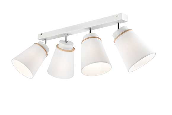 Augustino 4lt ceiling light