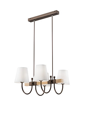 Julietta 4lt pendant light