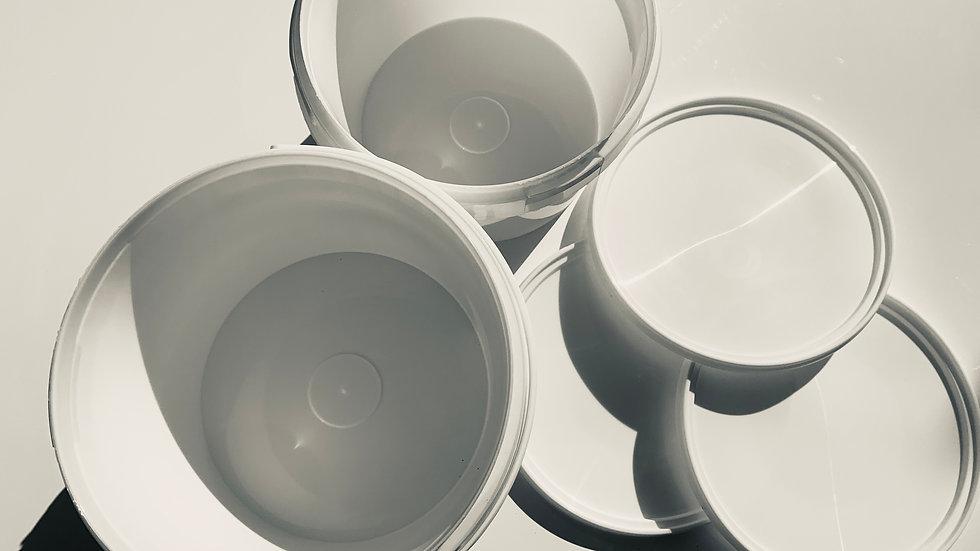 Buckets (White Food Grade Plastic)