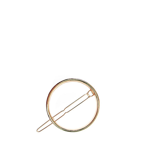 ROUND GOLD HIUSPINNI 4,5cm