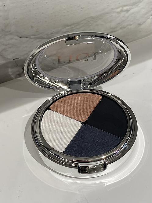 TIGI High Density Quad Eyeshadow, smoky hot
