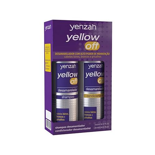 Kit Yenzah Yellow Off Shampoo + Condicionador 240ml