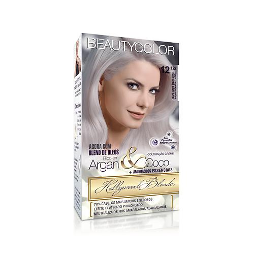 Coloração BeautyColor 12.122 Louro Ultra Claríssimo Especial Extra Violeta 50g