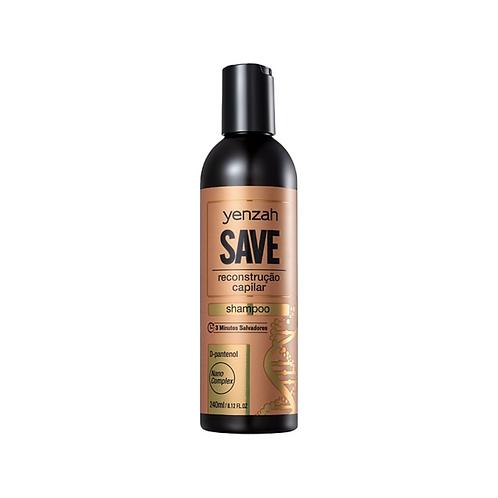 Shampoo Yenzah Save Reconstrução Capilar 240ml
