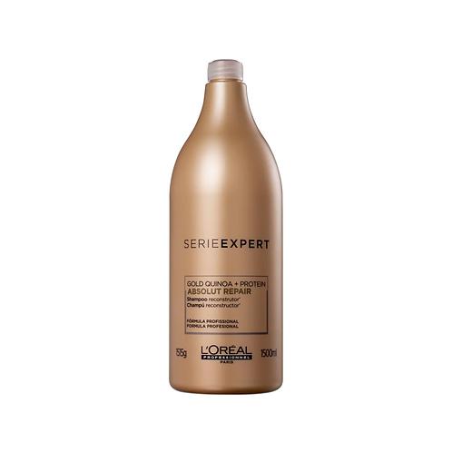 Shampoo L'Oréal Serie Expert Absolut Repair Gold Quinoa + Protein 1500ml