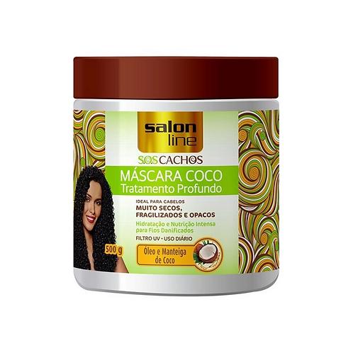 Máscara Salon Line SOS Cachos Coco 500g