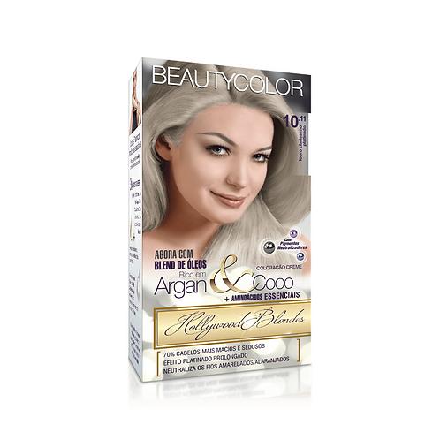 Coloração BeautyColor 10.11 Louro Claríssimo Platinado 50g