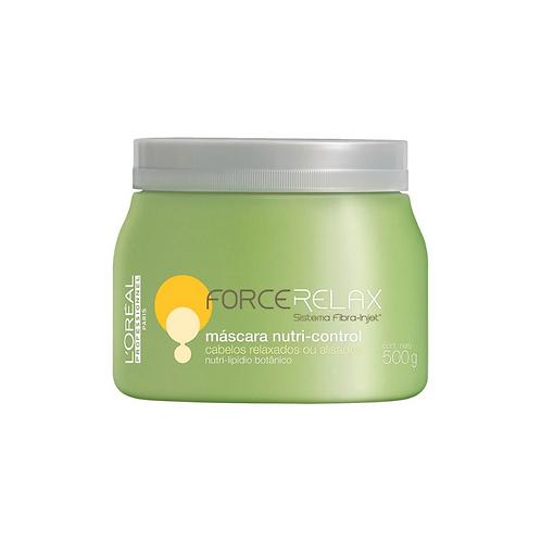 Máscara Nutri-Control L'Oréal Force Relax 500G