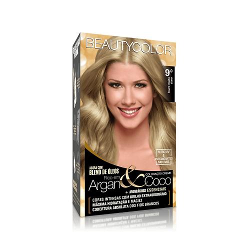 Coloração BeautyColor 9.0 Louro Muito Claro 50g