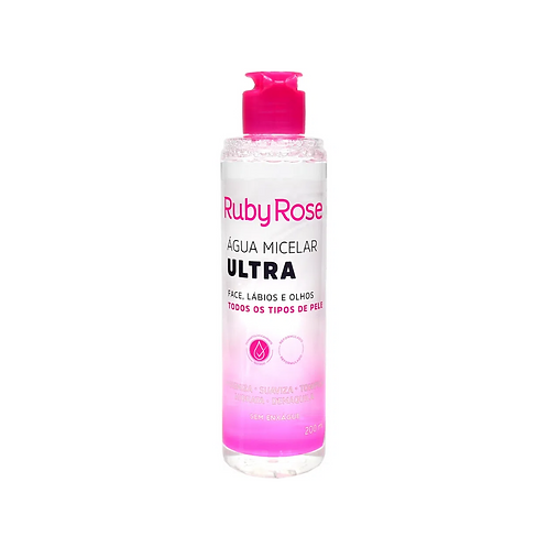 Água Micelar Ruby Rose Ultra 200ml