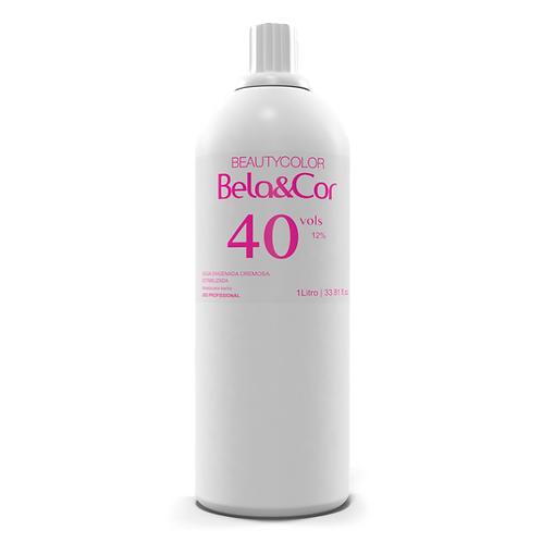 Água Oxigenada Cremosa Beautycolor Bela&Cor 40vol 1L