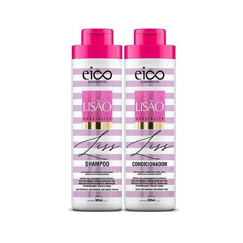 Kit Eico Lisão Spécialité Shampoo+Condicionador 800ml