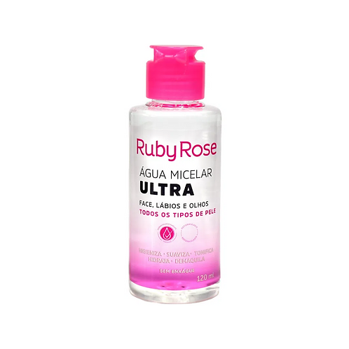 Água Micelar Ruby Rose Ultra 120ml