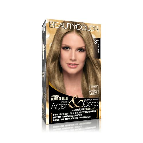 Coloração BeautyColor 8.0 Louro Claro 50g