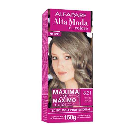 Coloração Alta Moda É Colore Alfaparf 8.21 Irisé Cinza Louro Claro 150G