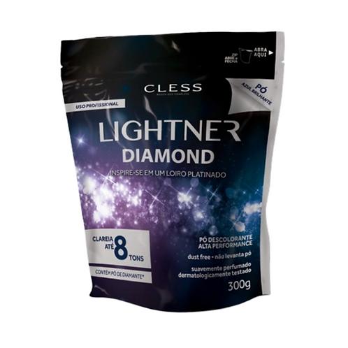 Descolorante em Pó Cless Lightner Diamond 300G