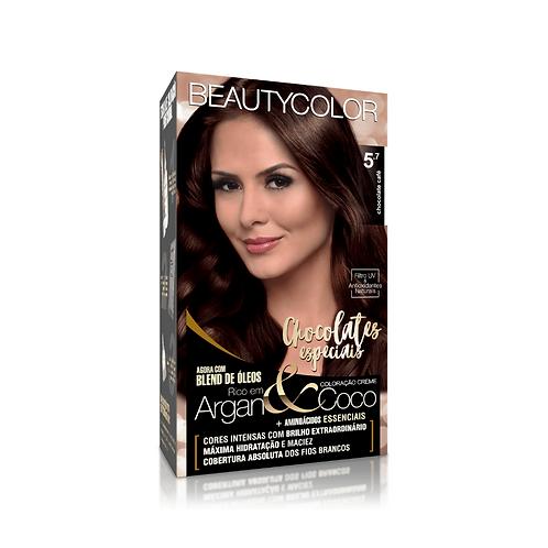Coloração BeautyColor 5.7 Chocolate Café 50g