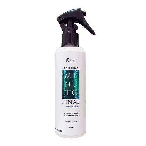 Leave-In Roger Anti Frizz Minuto Final 200ml